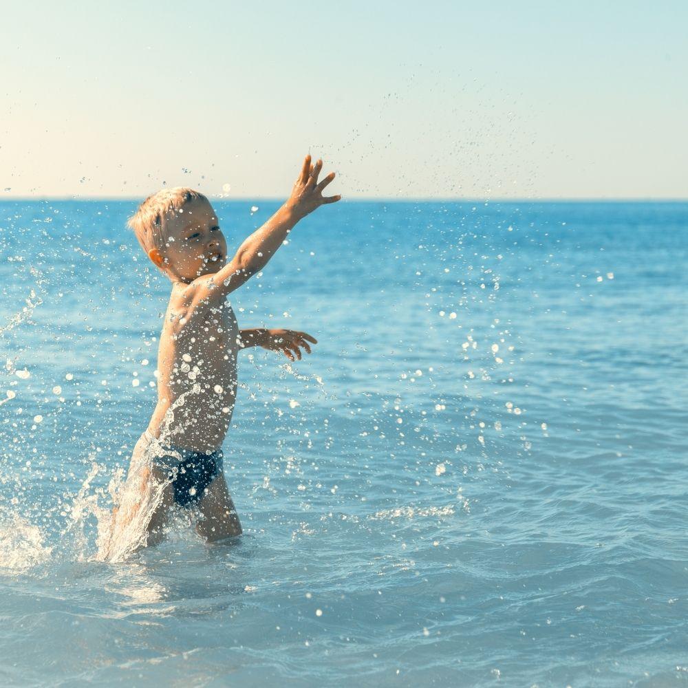 wakacje nad morzem z dziećmi