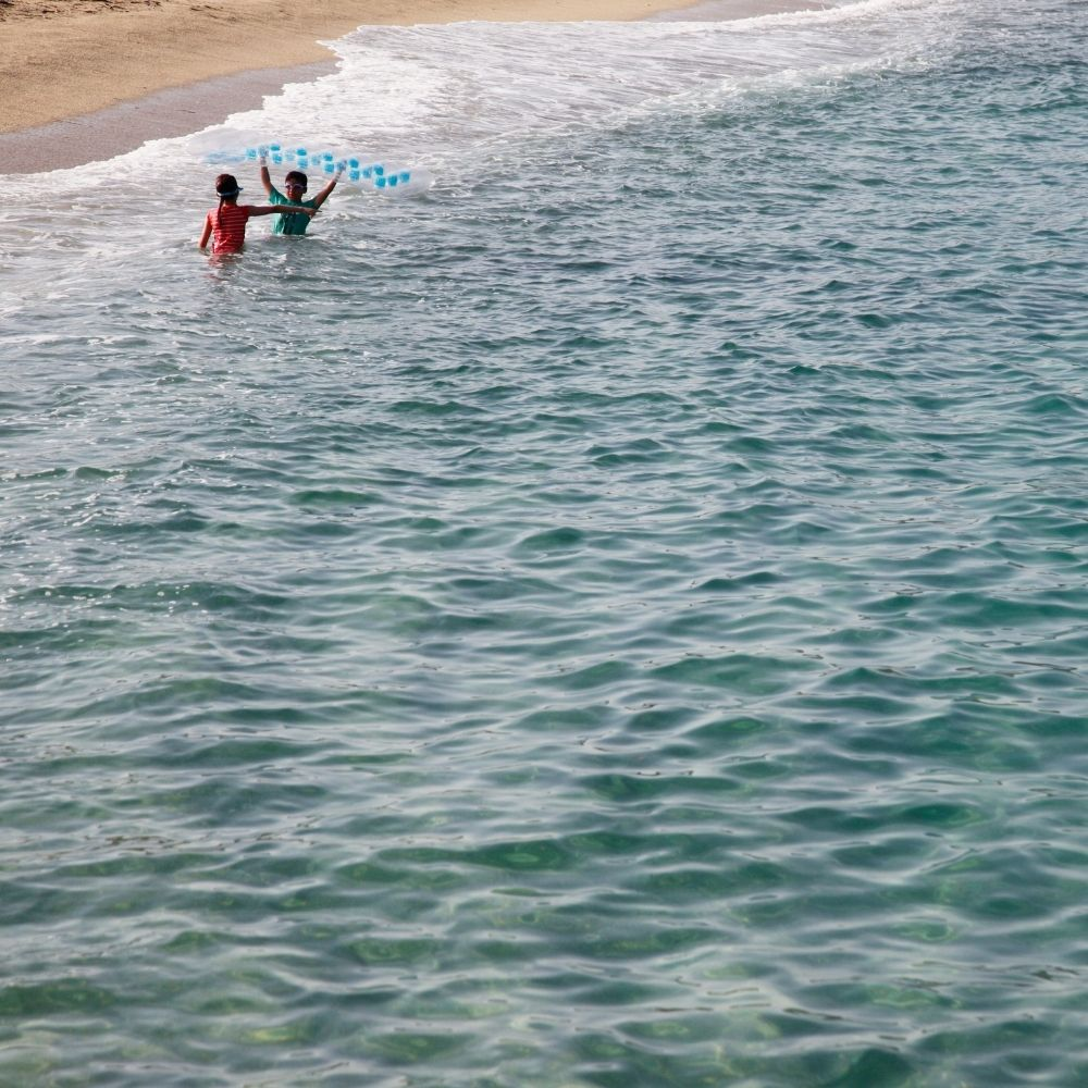 szukanie noclegu nad morzem